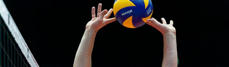 Photo d'un ballon de volley