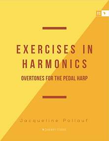 Exercises in Harmonics for Pedal Harp Co