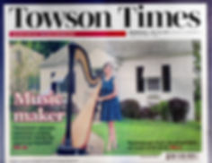 Cover of July 19, 2017 Towson Times