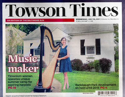 Photo of July 19, 2017 cover of Towson Times