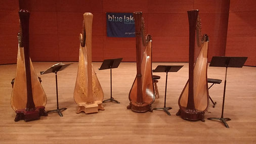 Harps at Blue Lake Fine Arts Camp