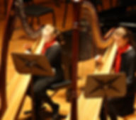 Photo of students of Jacqueline Pollauf performing at the Meyerhoff Symphony Hall