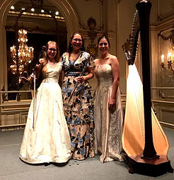 Trio at Cosmos Club