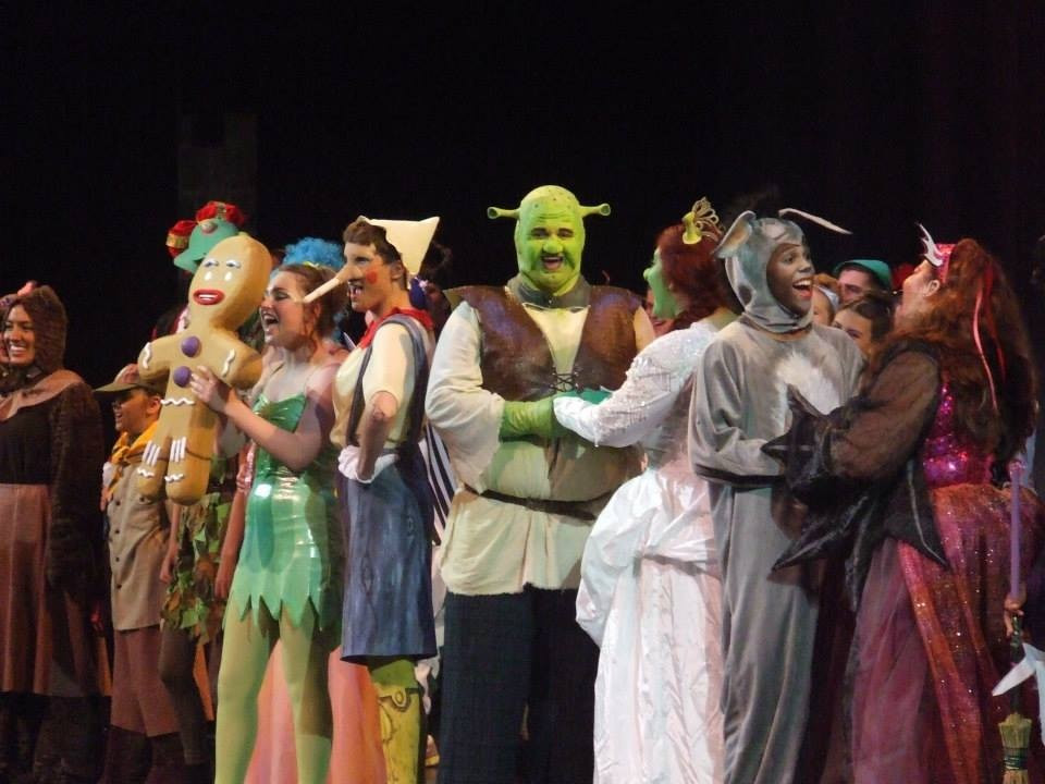Shrek the Musical (PC: Patricia O'Blenes)
