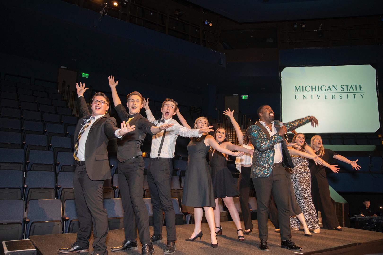 MSU Theatre Gala feat. Kyle Taylor Parker (PC: Charles Alexander Benoit)