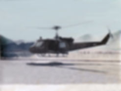 Military Helecopter Black and White Tinted Photo AFTER Restoration Magic at Priceless Preservation in Downtown Ann Arbor
