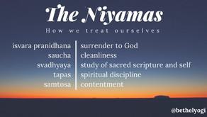 The Niyamas and the Ten Commandments