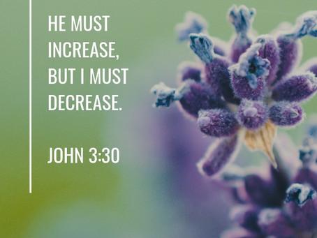 Lent is about Death