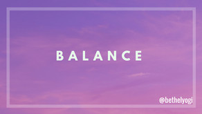 Concentrate to Balance