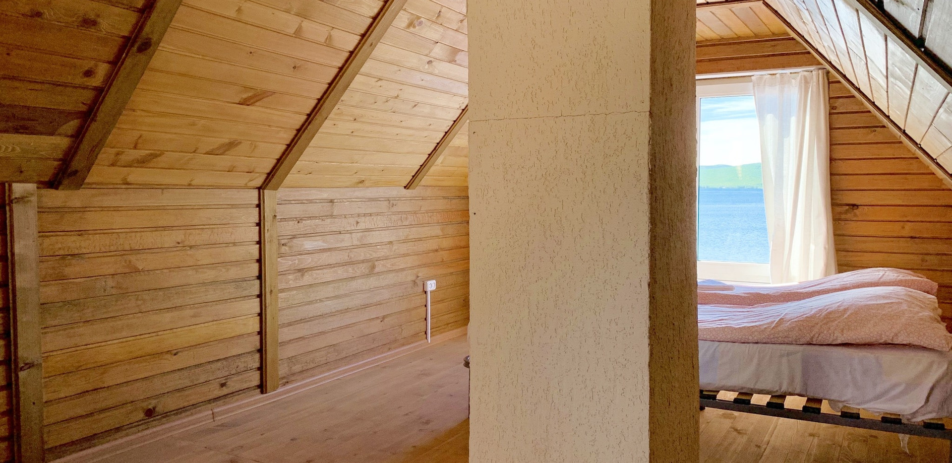 Двухместная комната над баней