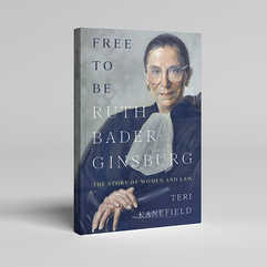 Free to be Ruth Bader Ginsburg Book Cover Design