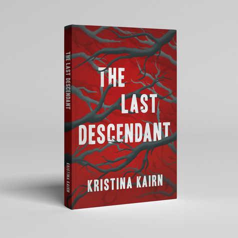 The Last Descendant Book Cover Design