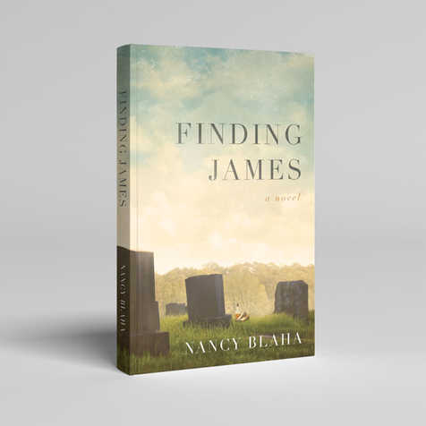 Finding James Book Cover Design