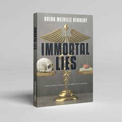 Immortal Lies Book Cover Design