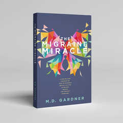 The Migraine Miracle Book Cover Design
