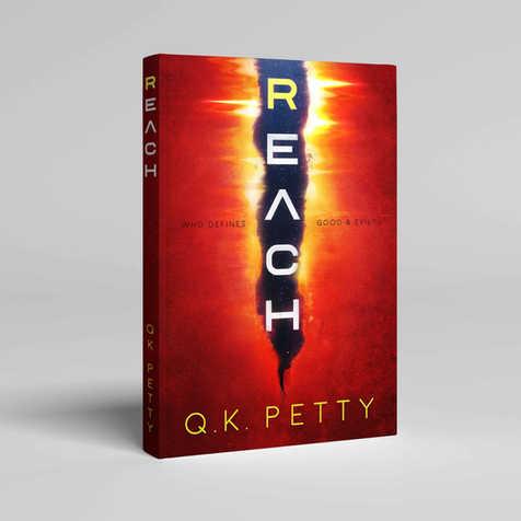 Reach Book Cover Design