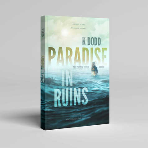 Paradise in Ruins Book Cover Design