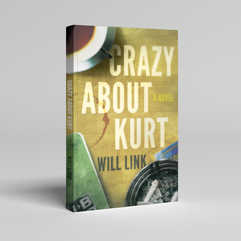 Crazy About Kurt Book Cover Design