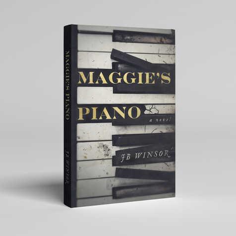 Maggie's Piano Book Cover Design