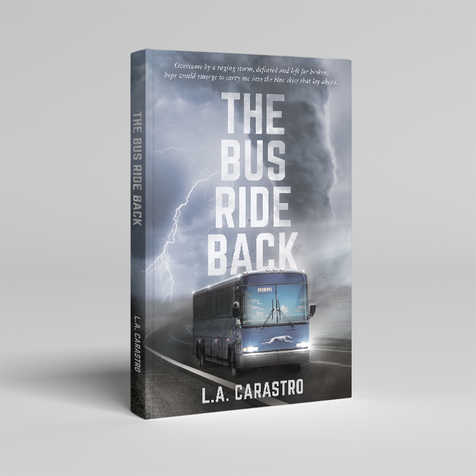 The Bus Ride Back Book Cover Design