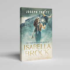 Isabella Brock Book Cover Design