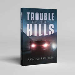 Trouble in the Hills Book Cover Design