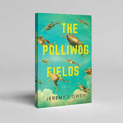 The Polliwog Fields Book Cover Design