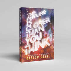 The Future is Closer Than You Think Book Cover Design