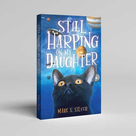 Still Harping My Daughter Book Cover Design