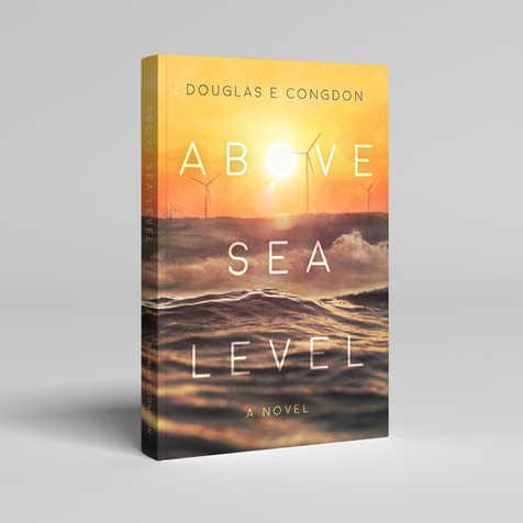 Above Sea Level Book Cover Design