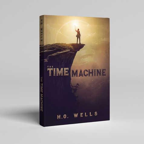 The Time Machine Book Cover Design