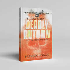 Silent Spring Deadly Autumn Book Cover Design