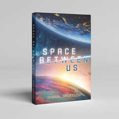 Space Between Us Book Cover Design