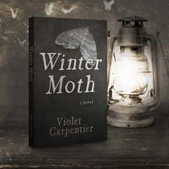 Winter Moth Book Cover Design