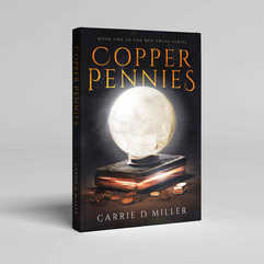 Copper Pennies Book Cover Design