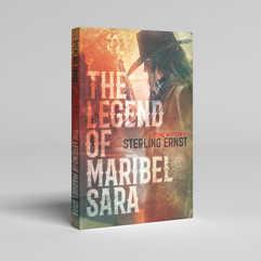 The Legend of Maribel Sara Book Cover Design