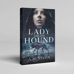 The Lady and the Hound Book Cover Design