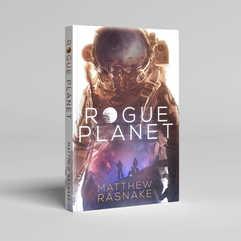 Rogue Planet Book Cover Design