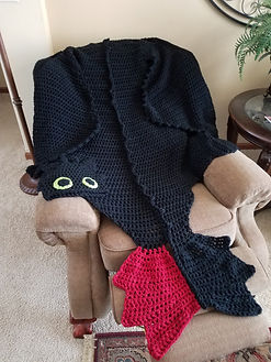 Dragon Cape Wearable Blanket
