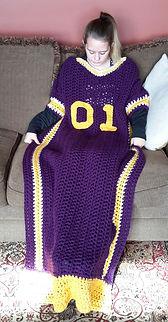 Football Jersey Blanket