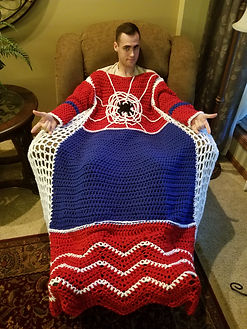 Spider Super Hero Blanket