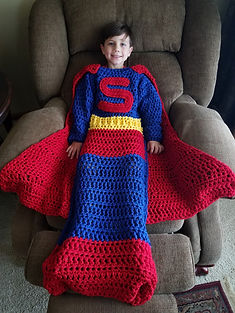 Super Hero Blanket
