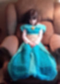 Arabian Princess Dress Blanket