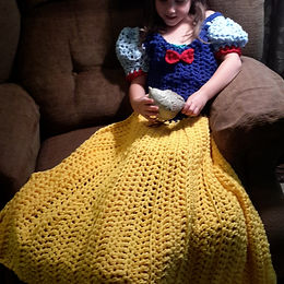 Fairest Princess Dress Blanket