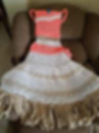 Polynesian Princess Dress Blanket