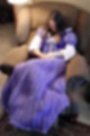 Purple Princess Dress Blanket