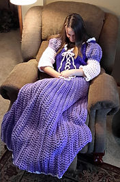 Purple Princess Dress Blanket