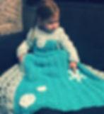 Snowflake Princess Dress Blanket