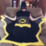 Bat Super Hero Blanket