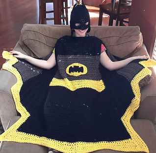 Bat Super Hero Blanket